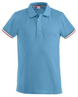 Polo Newton Clique lichtblauw - Yipp & Co Textiles