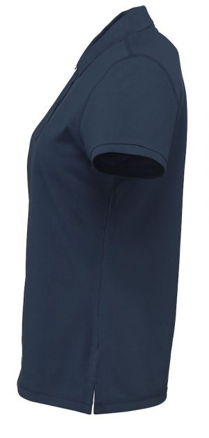 Polo Parkes D.A.D. Lady navy zijkant - Yipp & Co Textiles