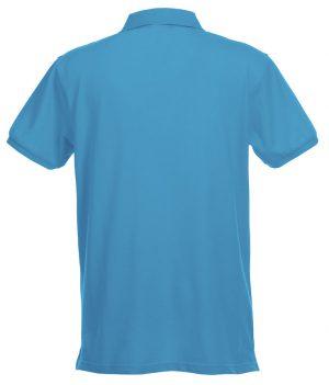 Polo Premium Stretch Clique turquoise - Yipp & Co Textiles