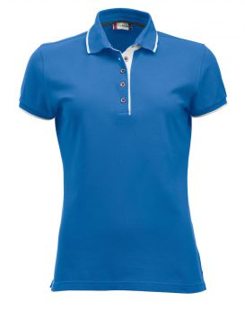 Poloshirt Seattle Lady hel blauw - Yipp & Co