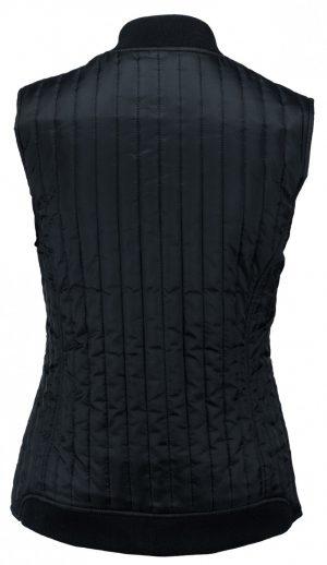 Bodywarmer Hudson Nimbus Lady navy achterzijde - Yipp & Co Textiles