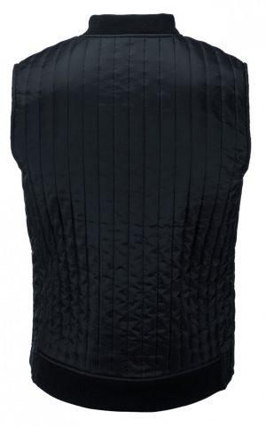 Bodywarmer Hudson Nimbus navy achterzijde - Yipp & Co Textiles