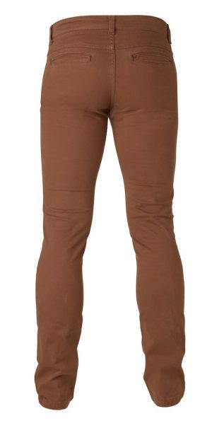 Broek Chino Officer James Harvest camel achterzijde - Yipp & Co Textiles