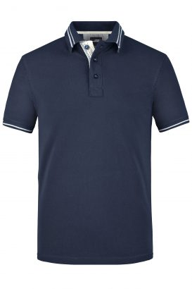 Polo Lifestyle James Nicholson navy - Yipp & Co Textiles