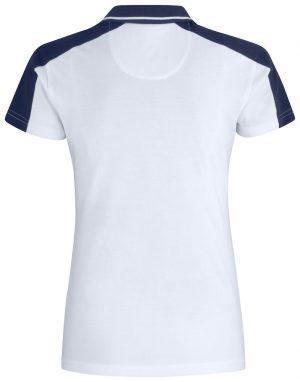 Polo Pitsford Clique Lady wit achterzijde - Yipp & Co Textiles