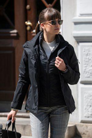 Jacket 3 in 1 Whitestone Nimbus Lady sfeerfoto - Yipp & Co Textiles