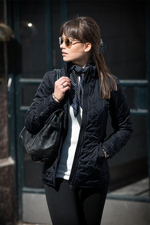 Jacket Henderson Nimbus Lady zwart sfeerfoto - Yipp & Co Textiles
