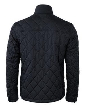 Jacket Henderson Nimbus zwart achterzijde - Yipp & Co Textiles
