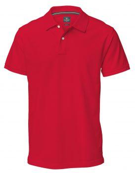 Polo Yale Nimbus rood - Yipp & Co Textiles