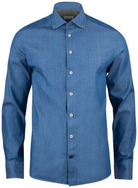 Overhemd Indigo Bow 130 slim J. Harvest & Frost